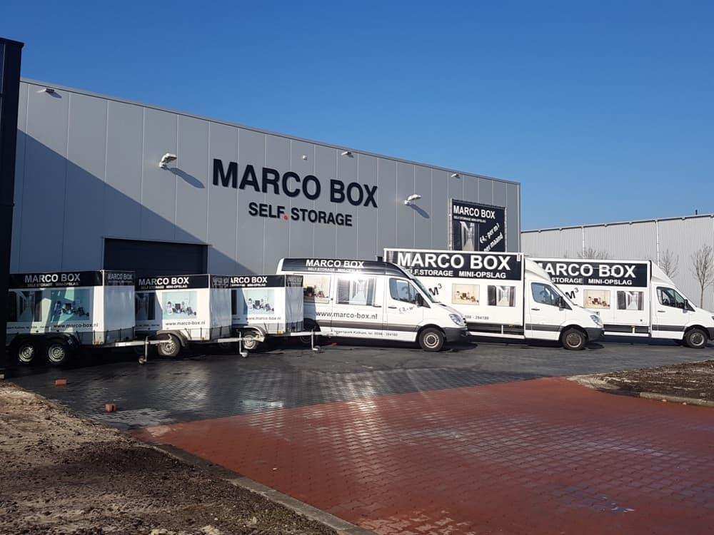 Aanhangwagen bij Marco Box, voor huurders van een Marco Box!